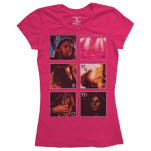 official Pink Floyd Live Poster Ladies T-Shirt