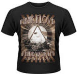 official Pink Floyd Knebworth 1975 T-Shirt