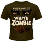Plan 9 White Zombie T-Shirt