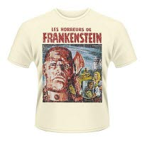 Plan 9 Horrors Of Frankenstein T-Shirt