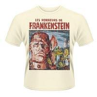 Plan 9 Horrors Of Frankenstein T-Shirt