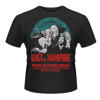Plan 9 Lust For A Vampire T-Shirt