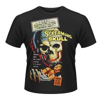 Plan 9 Screaming Skull T-Shirt