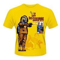 Plan 9 The Earth Dies Screaming T-Shirt