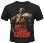 Plan 9 The Texas Chainsaw Massacre Leatherface 3 T-Shirt
