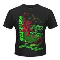 Plan 9 Godzilla Vs King Kong T-Shirt