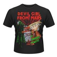 Plan 9 Devil Girl From Mars T-Shirt