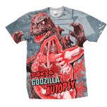 Plan 9  Godzilla Godzilla Autopsy T-Shirt