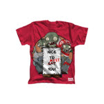 Plants Vs Zombies Red Nice To Meet You T-Shirt
