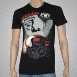 pmtoday Face Black T-Shirt