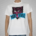 Poison The Well Cat White T-Shirt