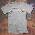 Poison The Well Logo Heather Grey T-Shirt