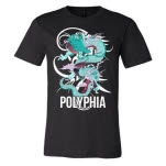 Polyphia Dragon Black T-Shirt