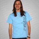 Portugal The Man Hands Light Blue T-Shirt