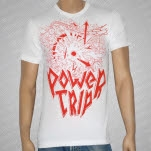 Power Trip Armageddon Logo White T-Shirt