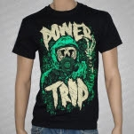 Power Trip Gasmask Black T-Shirt