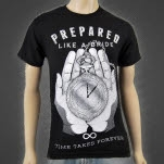 Prepared Like A Bride Time Takes Forever Black T-Shirt