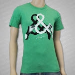 Pretty  Nice Hands Tri Green T-Shirt