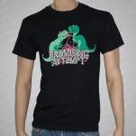Promising Attempt Dinos Black T-Shirt