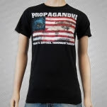 Propagandhi Empires Black T-Shirt