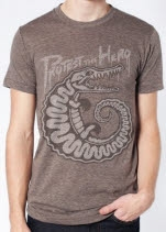 Protest the Hero Croc Tri Coffee T-Shirt