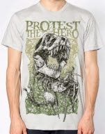 Protest the Hero Dino Ice Grey T-Shirt