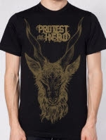 Protest the Hero Goat Black T-Shirt