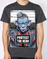 Protest the Hero Monkey Charcoal T-Shirt