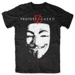 Protest the Hero V Black T-Shirt