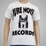 Pure Noise Records Death Row White T-Shirt