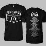 Pure Noise Records Five Years Black T-Shirt