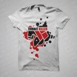 Rabbit Killer Logo White T-Shirt