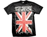 Rage Against The Machine Union Jack Sk T-Shirt