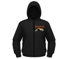 official Rainbow Rising Hoodie With Zip
