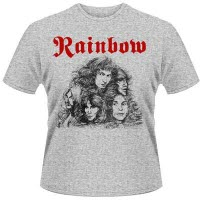 Rainbow Long Live Rock And Roll Grey T-Shirt