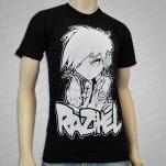 Razihel Anime Black T-Shirt