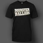 Razor  Tie Monster Ballads Black T-Shirt