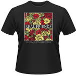 Real Friends Black Floral T-Shirt