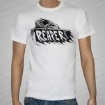 Reaper Records Reaper White T-Shirt
