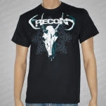 Recon Deer Skull Black T-Shirt
