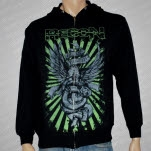 Recon Eagle Black Hoodie Zip