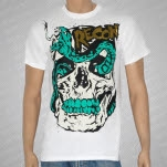 Recon Snake Head White T-Shirt