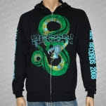 Recon Viper City Black Hoodie Zip