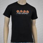 Recover Sun Black T-Shirt