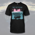 Reflections Cover Art Black T-Shirt