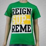 Reign Supreme Logo Green T-Shirt