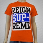 Reign Supreme Logo Orange T-Shirt
