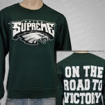 Reign Supreme Onward To Victory Green Crewneck Sweatshirt