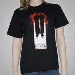 Remembering Never Hangman Black T-Shirt