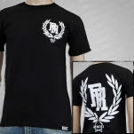 Resist  Rebel Crest Black T-Shirt